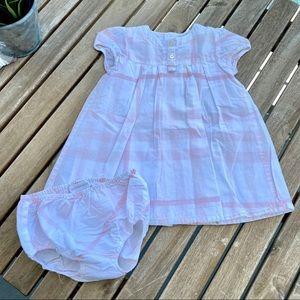 Dress pants Burberry 3 / 6 months short sleeves